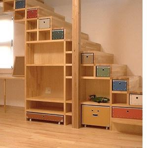 Armarios bajo escaleras 2 for Muebles de madera para debajo de la escalera