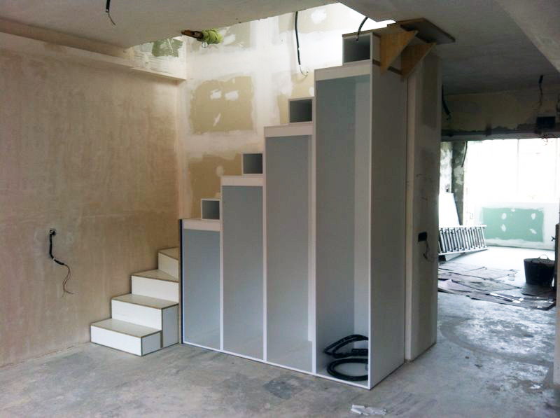 E1 for Escaleras de duplex