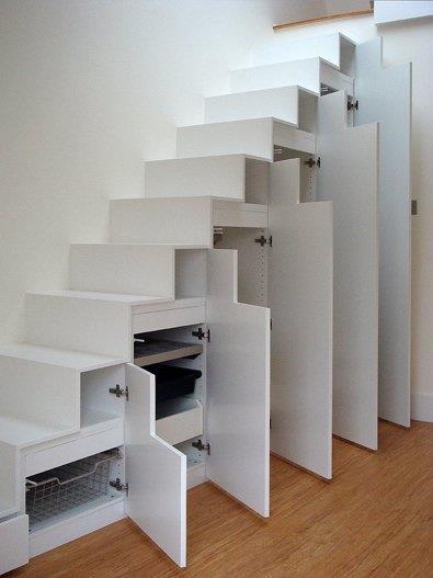 escaleras armario modernas - Escaleras Modernas